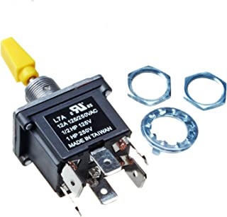 Mover Parts 4360314 Toggle Switch for JLG 86HX 120HX 80HX+6 80HX 80H 460SJ 450A 400S 400RTS 500RTS 660SJC 601S 600SC