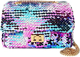 Sparkly Glitter Toddler Kids Purse for Girls Quilted...