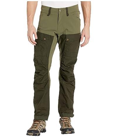 Fjallraven Keb Trousers (Deep Forest/Laurel Green) Men