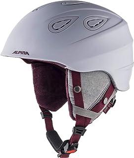 Alpina Carat LX Casco da sci da ragazzo A9081 Bambino Casco da sci Fenicottero opaco 54-58 cm