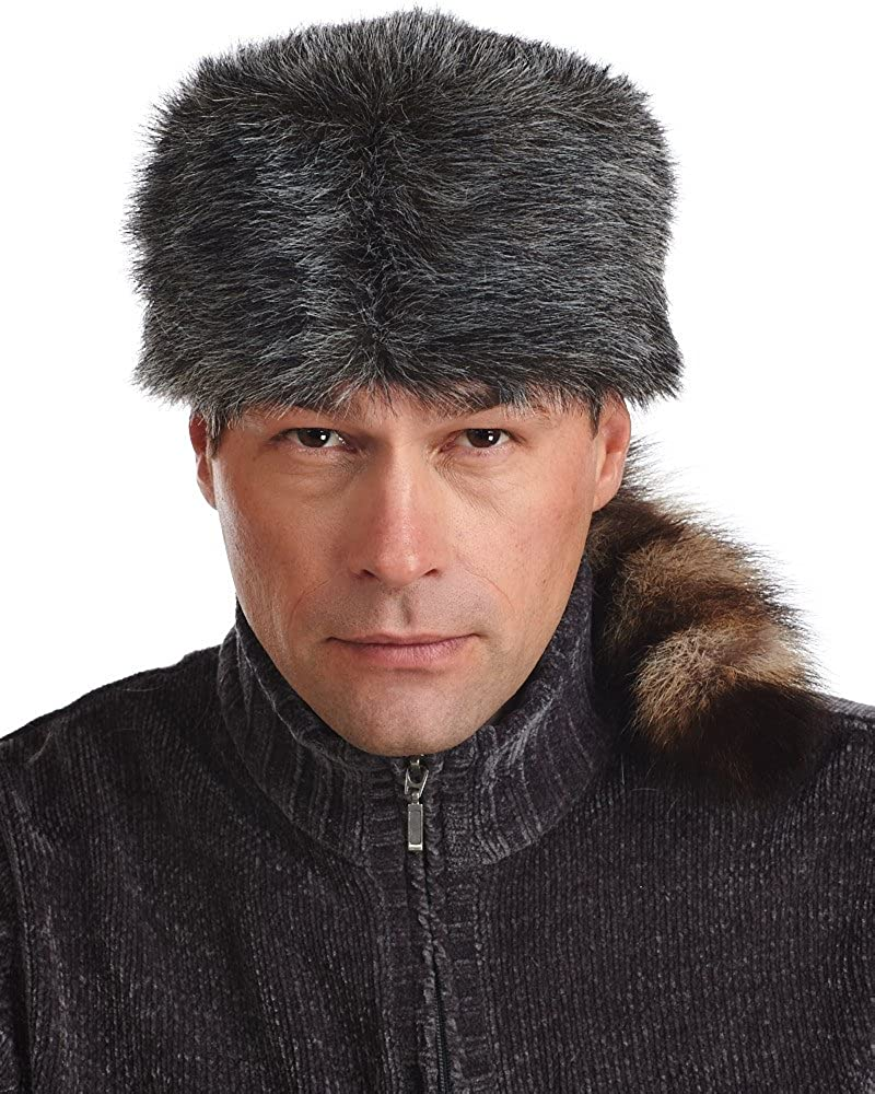 frr Faux Fur Max 67% OFF Coonskin Cap Raccoon 40% OFF Cheap Sale with Tail Real