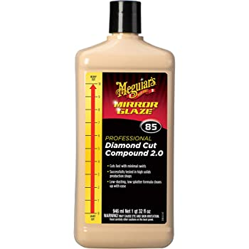 Meguiar's SR0601 Cutting and Finishing Cream Unique Abrasive Technology Cuts and finishes in one Step