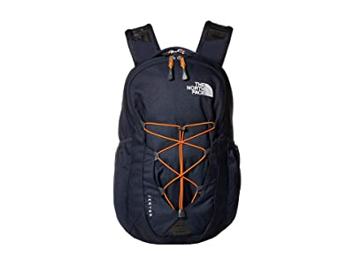 The North Face Jester (Urban Navy/Persian Orange) Backpack Bags