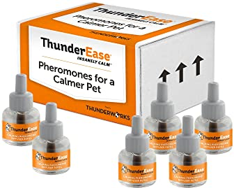 ThunderEase Dog Calming Pheromone Diffuser Refill | Powered by ADAPTIL | Vet Recommended to Relieve Separation Anxiet...