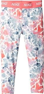 Kids Baby Girl's Rainbow Wash All Over Print Leggings (Toddler) Pink Nebula 4T