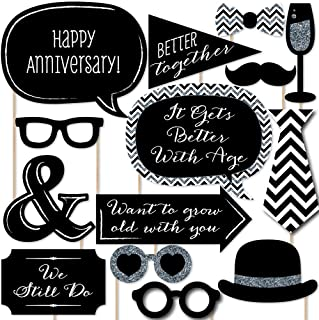 Best anniversary photo booth props Reviews