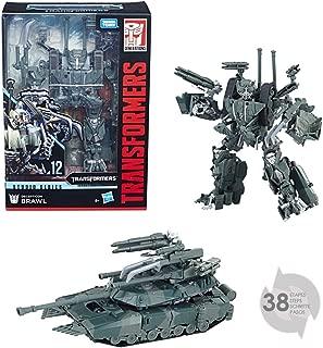 Transformers E0772ES0 TRA Gen Studio Series Voyage Brawl Action Figure Playset, Multi-Colour