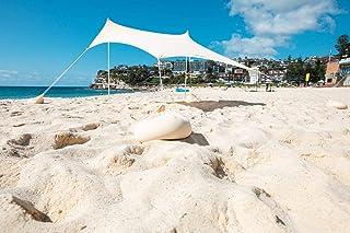 OZoola Beach Sunshade Tent with Sandbags UPF 50+ Sun Protection