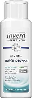 lavera Neutral Dusch-Shampoo  Bio Nachtkerze  Haut & Haar  Seifenfreie milde Rezeptur  Neurodermitis  Medizinische Hautpflege  vegan Bio Pflanzenwirkstoffe Naturkosmetik Duschgel 200 ml