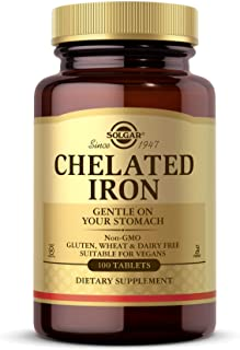 Solgar Chelated Iron 100 Tablets