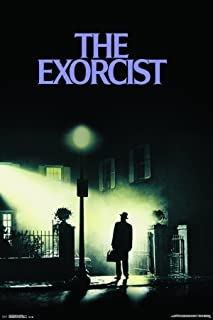 Trends International 24x36 the Exorcist-One Sheet Premium Wall Poster, 22.375