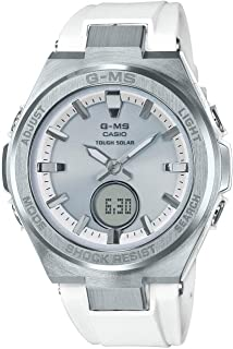 Ladies' Casio Baby-G G-MS White and Silver-Tone Watch...