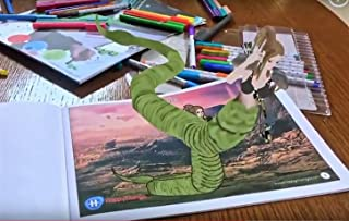 Envolve Education in Greek Mythology Through Animation in Augmented Reality Kids Coloring Books - The Interactive, 3D Coloring Animation, AR/VR App Included