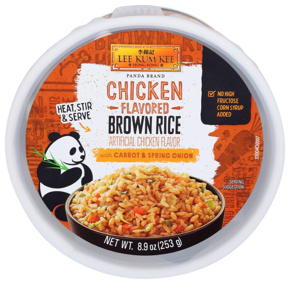 Lee Max 77% OFF Kum Kee Panda Brand Chicken Flavored Our shop most popular Rice with Brown Carrots