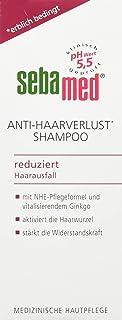 sebamed Anti-Haarverlust Shampoo, 200 ml, mit NHE-Pflegeformel mit Coffein und Ginkgo..