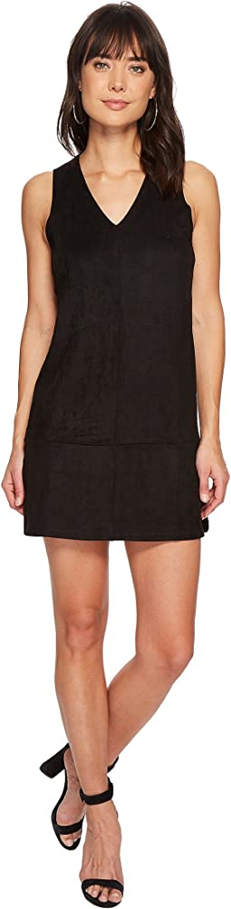 Bishop + Young Faux Suede Shift Dress