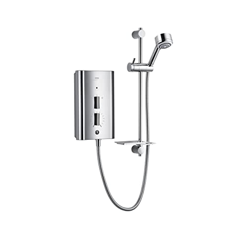Mira Showers 1.1563.011 Escape 9.8 kW Thermostatic Electric Shower - Chrome