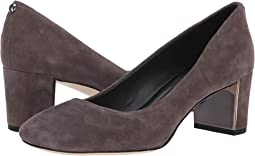 Dark Taupe Kid Suede