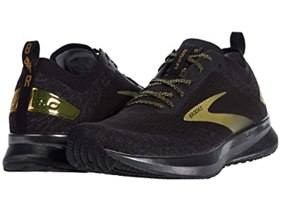 Brooks Levitate 4 (Black/Gold) Men
