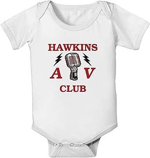 Hawkins AV Club Baby Romper Bodysuit