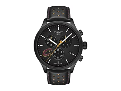 Tissot Chrono XL NBA Chronograph Cleveland Cavaliers T1166173605101 (Black/Yellow/Black) Watches