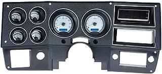 Dakota Digital 73-87 Chevy Truck VHX System, Silver Face - Blue Display