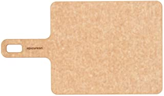 Epicurean Handy Series Cutting Board with Handle, 9-Inch by 7-Inch, Natural