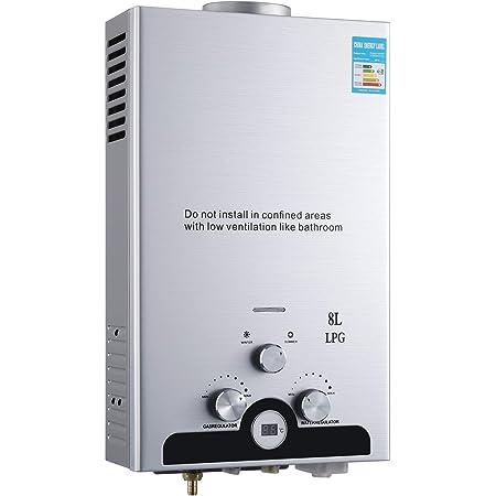 Cueffer LPG Calentador de Agua Calentador de Agua de Gas ...