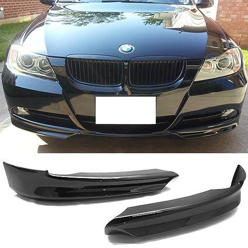 49da80f4fbd8 Pre-painted Front Splitter Lip Fits 2006-2008 BMW 3 Series E90