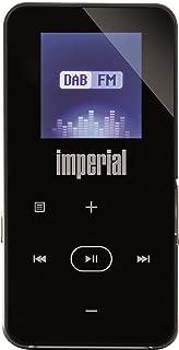 Imperial DABMAN 2 带 MP3 播放器(DAB+/UKW,Micro USB,液晶显示屏,电池,蓝牙和FM 发射器功能)黑色