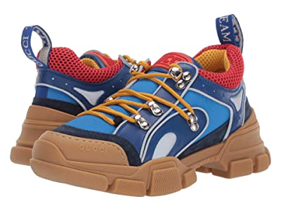 Gucci Kids Flashtrek Sneaker (Little Kid) (Blue/Multi) Kid