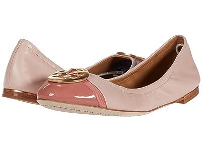Tory Burch Minnie Cap-Toe Ballet (Seashell Pink/Tramonto) Women