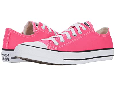 Converse Chuck Taylor All Star Ox Seasonal Color (Hyper Pink) Athletic Shoes