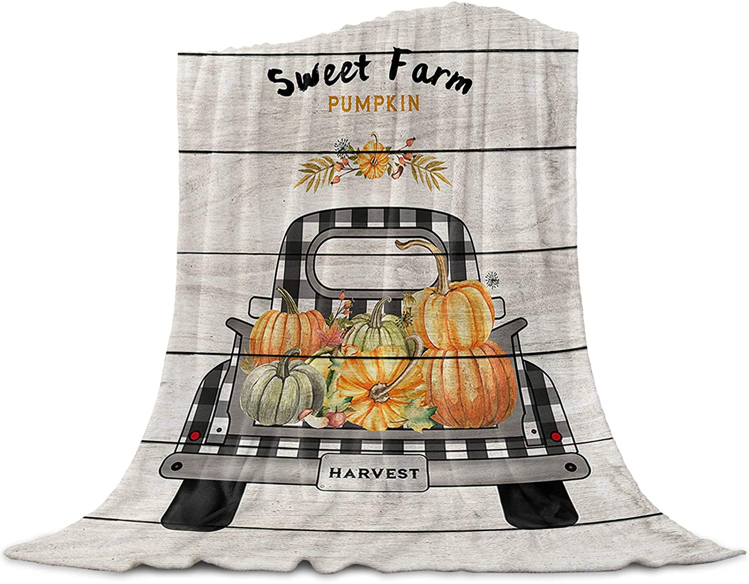 Home Collection dh ! Super beauty product restock quality top! Flannel Fleece Blanket Thanksgiving Throw Sw Ranking TOP14