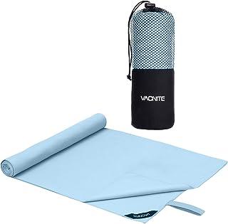 VACNITE 速乾タオル 超吸水 柔らかい 色褪せない 防臭 高い耐久性 軽量 収納袋付き 湿気 梅雨対策 旅行タオル バスタオル 水泳/スポーツ/旅行/家庭用