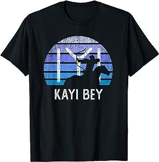 Vintage Ertugrul Bow Arrow Kayi Flag Sunset Horseman Archer T-Shirt