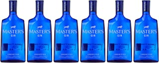 Gin Masters dry gin, vol. 40%, 6 botellas x 700ml - Total: 4200ml
