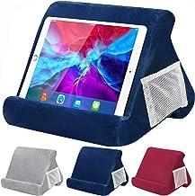 بالش پایه قرص برای iPad ، پایه نگهدارنده بالشتک نرم چند زاویه ای برای تبلت ها ، خوانندگان الکترونیکی ، تلفن های هوشمند ، کتابها ، مجلات (آبی)