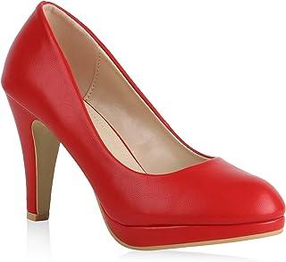 Amazon.it: decolletè rosse: Scarpe e borse