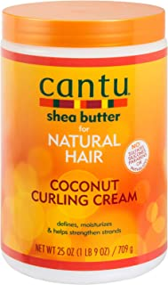 Cantu Shea Butter for Natural Hair Coconut Curling Cream, 25 Ounce