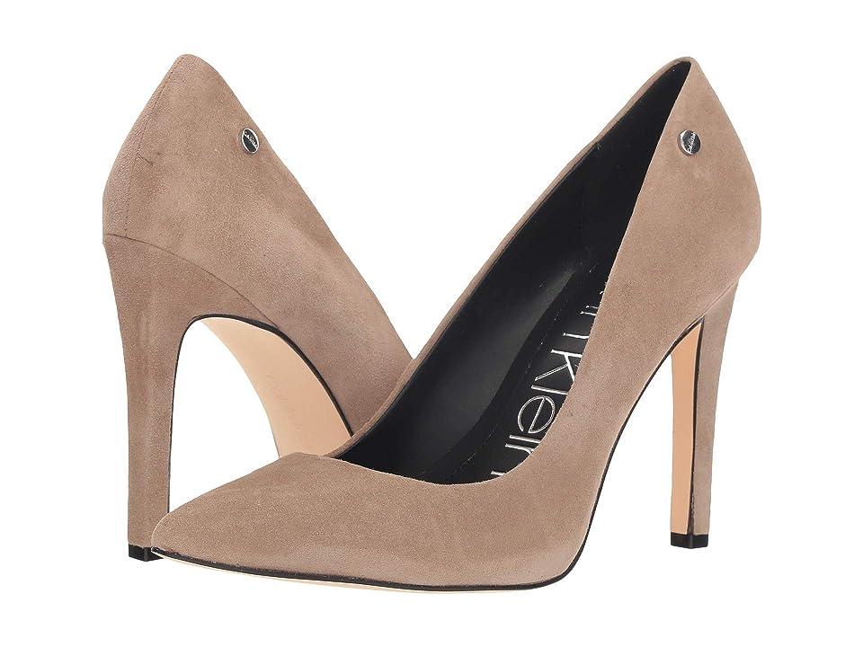 Calvin Klein Brady (Tobacco Suede) High Heels