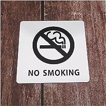 WC teken 10 cm Waarschuwingsbord Niet roken logo niet rook mark lijm sticker voor openbare plaatsen Inner kamer indoor hom...