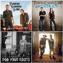 Florida Georgia Line: Complete Studio Album Discography - 4 Audio CDs