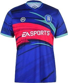 comprar comparacion FIFA Hombre Jersey Camiseta Deportiva Manga Corta Cuello V