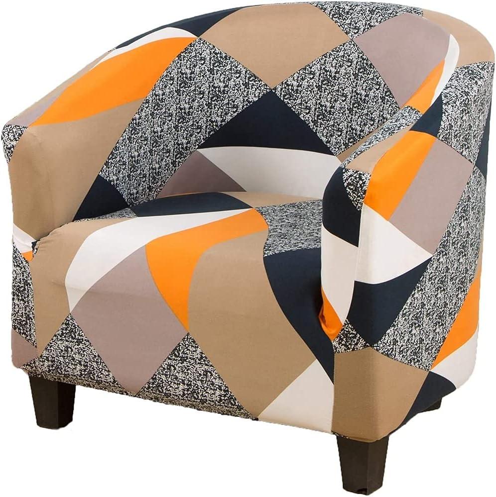 Club Chair Slipcovers Popular overseas for Armchairs Tub Sofa Slipc Brand Cheap Sale Venue Stretch