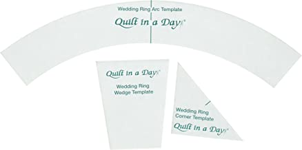 Quilt in a Day Double Wedding Ring Templates (3 Pack)