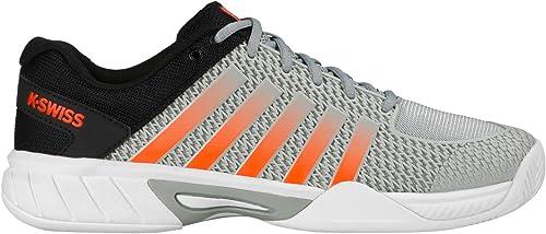 K-Swiss - Hausschuhe de tenis de Material Sintético para hombre grau Highrise schwarz Neon Blaze