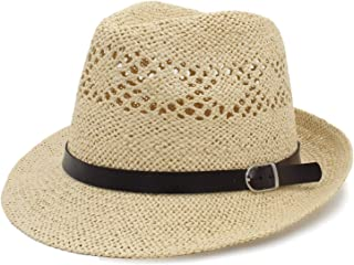 2019 Fashion Summer Women Straw Sun Hat with Wide Brim Panama Hat for Beach Sunbonnet Hat with Bowknot Size 56 58CM A0145