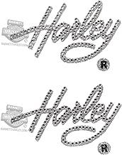 Harley-Davidson Harley Script Gemz Bling Inside Decal Kit