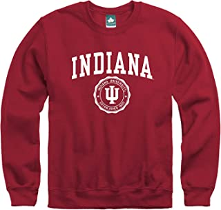 Ivysport Crewneck Sweatshirt, Cotton/Poly Blend, Legacy Logo Color, NCAA Colleges and Universities